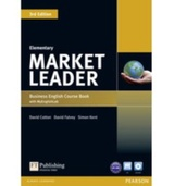 Tapa del libro Market Leader 3rd Edition Elementary Courebook & Dvd-rom Pack
